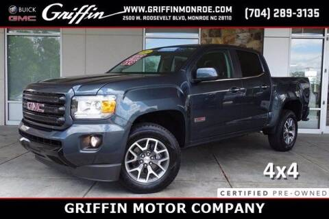 2019 GMC Canyon for sale at Griffin Buick GMC in Monroe NC