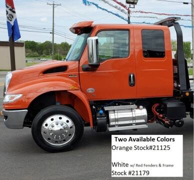 2022 International MV Extended Cab for sale at Rick's Truck and Equipment in Kenton OH