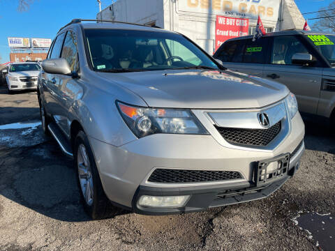 2011 Acura MDX for sale at GRAND USED CARS  INC in Little Ferry NJ