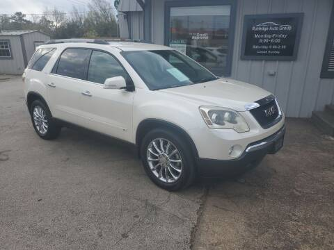 2010 GMC Acadia for sale at Rutledge Auto Group in Palestine TX