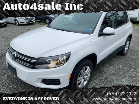 2013 Volkswagen Tiguan for sale at Auto4sale Inc in Mount Pocono PA