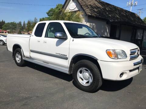 2003 Toyota Tundra for sale at Three Bridges Auto Sales in Fair Oaks CA