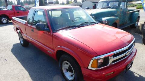 1994 Chevrolet S-10 for sale at M & M Auto Sales LLc in Olympia WA