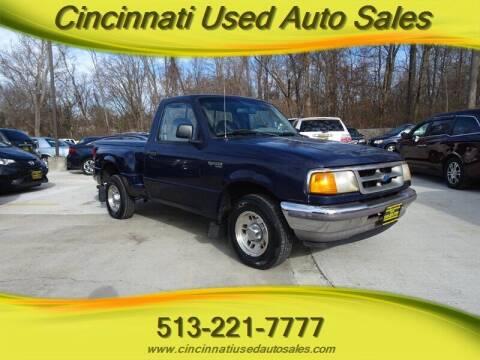 1997 Ford Ranger for sale at Cincinnati Used Auto Sales in Cincinnati OH