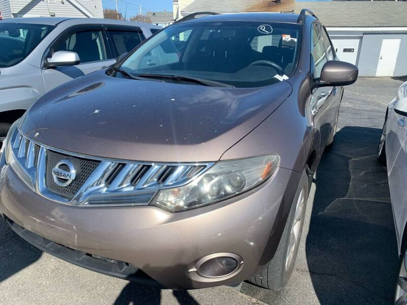 2009 Nissan Murano for sale at Better Auto in South Darthmouth MA