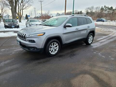 2016 Jeep Cherokee for sale at Premier Motors LLC in Crystal MN