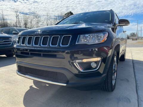 2018 Jeep Compass for sale at A&C Auto Sales in Moody AL
