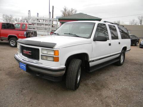 1998 GMC Suburban for sale at Cimino Auto Sales in Fountain CO