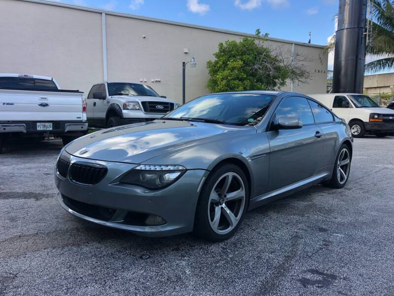 2008 BMW 6 Series for sale at Florida Cool Cars in Fort Lauderdale FL