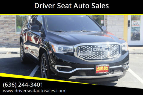 2017 GMC Acadia for sale at Driver Seat Auto Sales in Saint Charles MO