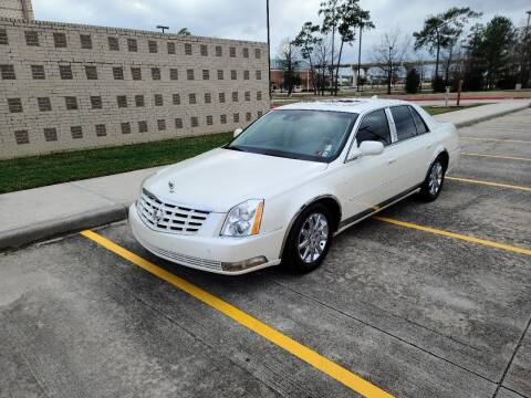 2011 Cadillac DTS for sale at MG Autohaus in New Caney TX