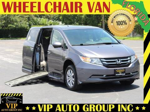 2015 Honda Odyssey for sale at VIP Auto Group in Clearwater FL