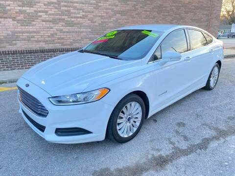 2014 Ford Fusion Hybrid for sale at Quick Stop Motors in Kansas City MO