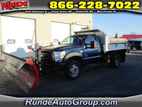 2011 Ford F-550 Super Duty for sale at Runde Chevrolet in East Dubuque IL