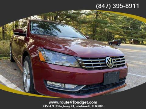 2015 Volkswagen Passat for sale at Route 41 Budget Auto in Wadsworth IL