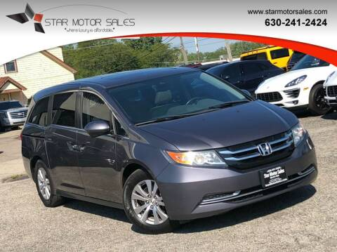 2016 Honda Odyssey for sale at Star Motor Sales in Downers Grove IL