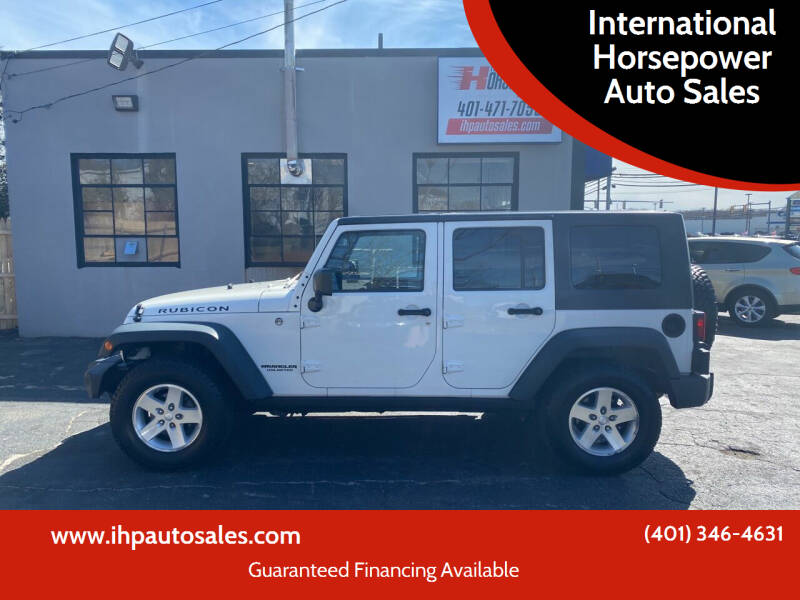 2009 Jeep Wrangler Unlimited for sale at International Horsepower Auto Sales in Warwick RI