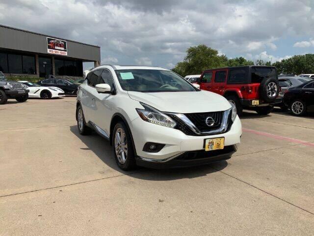 2015 Nissan Murano for sale at KIAN MOTORS INC in Plano TX