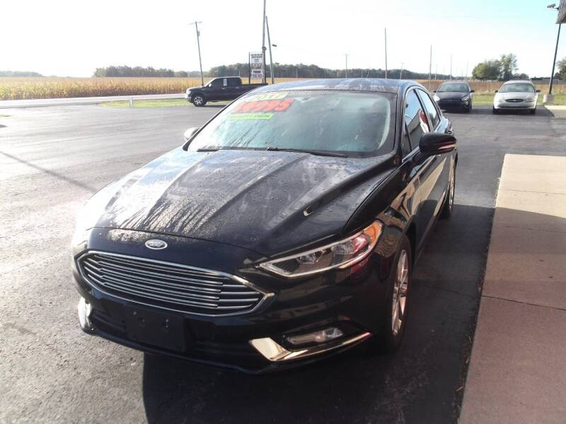 2017 Ford Fusion for sale at Dietsch Sales & Svc Inc in Edgerton OH