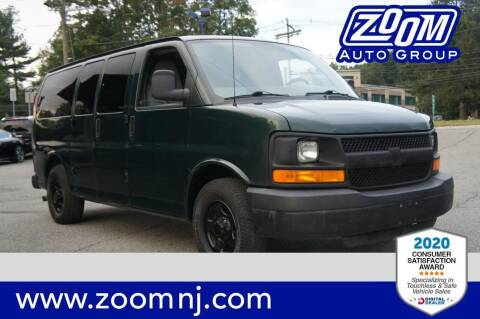 2008 Chevrolet Express Passenger for sale at Zoom Auto Group in Parsippany NJ