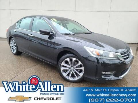 2013 Honda Accord for sale at WHITE-ALLEN CHEVROLET in Dayton OH