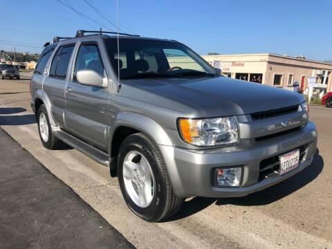 2001 Infiniti QX4 for sale at Ricos Auto Sales in Escondido CA