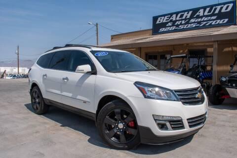 2015 Chevrolet Traverse for sale at Beach Auto and RV Sales in Lake Havasu City AZ