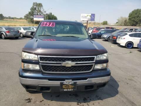 2006 Chevrolet Silverado 1500 for sale at BELOW BOOK AUTO SALES in Idaho Falls ID