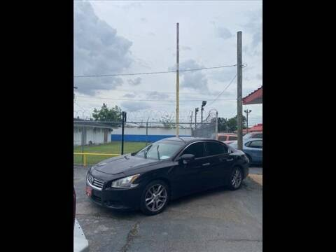 2012 Nissan Maxima for sale at FREDY KIA USED CARS in Houston TX