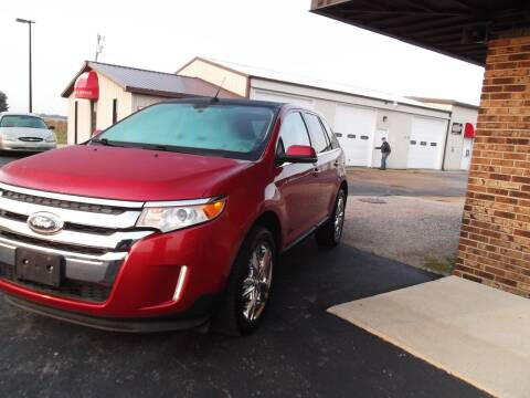 2012 Ford Edge for sale at Dietsch Sales & Svc Inc in Edgerton OH