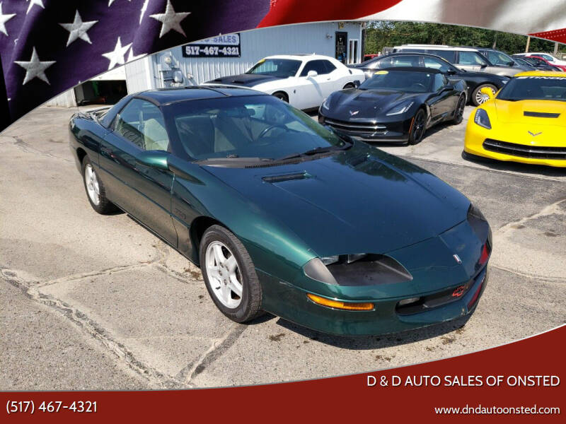 1995 Chevrolet Camaro for sale at D & D Auto Sales Of Onsted in Onsted MI