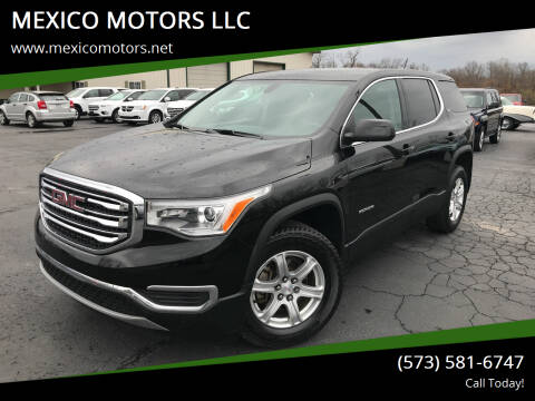 2017 GMC Acadia for sale at MEXICO MOTORS LLC in Mexico MO
