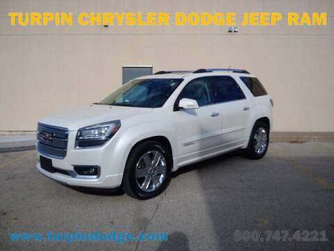 2015 GMC Acadia for sale at Turpin Dodge Chrysler Jeep Ram in Dubuque IA