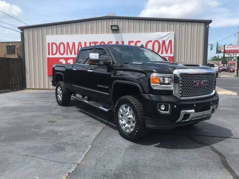 2017 GMC Sierra 2500HD for sale at Auto Group South - Idom Auto Sales in Monroe LA