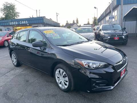 2018 Subaru Impreza for sale at Real Deal Cars in Everett WA