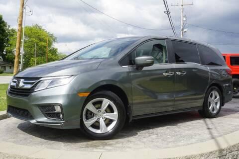 2018 Honda Odyssey for sale at Platinum Motors LLC in Heath OH
