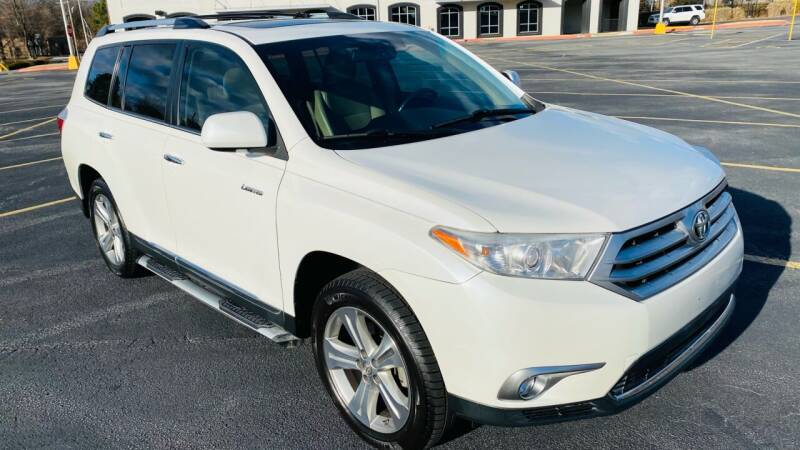 2012 Toyota Highlander for sale at H & B Auto in Fayetteville AR