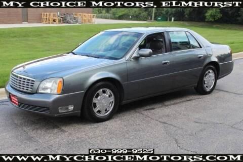 2004 Cadillac DeVille for sale at My Choice Motors Elmhurst in Elmhurst IL