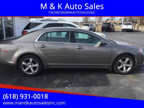 2011 Chevrolet Malibu for sale at M & K Auto Sales in Granite City IL
