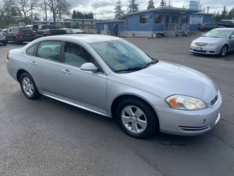 2009 Chevrolet Impala for sale at Pacific Point Auto Sales in Lakewood WA