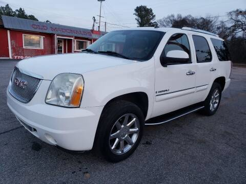 2007 GMC Yukon for sale at GA Auto IMPORTS  LLC in Buford GA