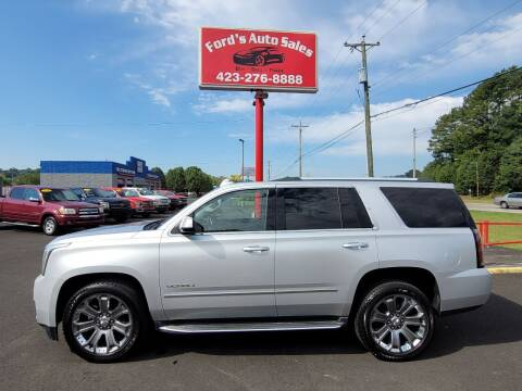 2015 GMC Yukon for sale at Ford's Auto Sales in Kingsport TN