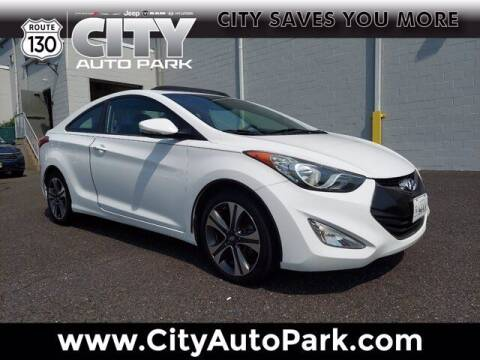 2013 Hyundai Elantra Coupe for sale at City Auto Park in Burlington NJ