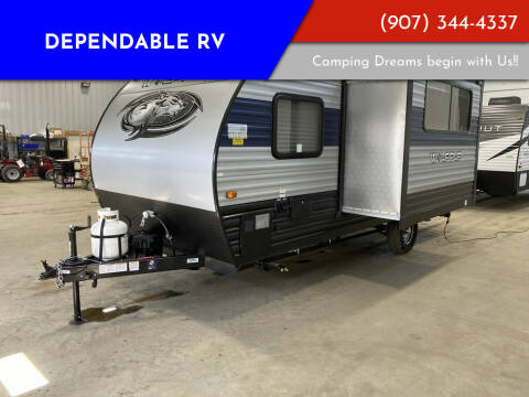 2021 Forest River Cherokee Wolf Pup 17JG for sale at Dependable RV in Anchorage AK