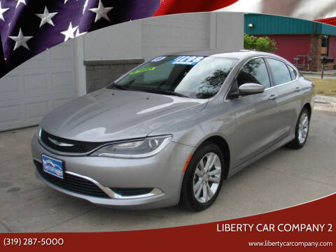 2015 Chrysler 200 for sale at Liberty Car Company - II in Waterloo IA