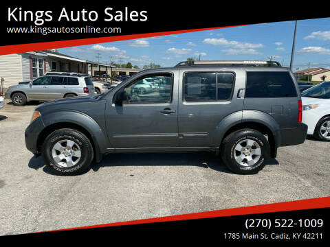 2006 Nissan Pathfinder for sale at Kings Auto Sales in Cadiz KY