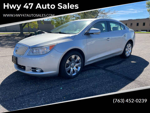2010 Buick LaCrosse for sale at Hwy 47 Auto Sales in Saint Francis MN