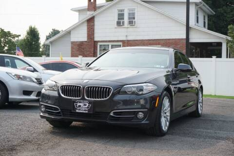 2015 BMW 5 Series for sale at HD Auto Sales Corp. in Reading PA