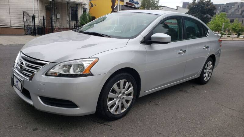 2014 Nissan Sentra for sale at JOANKA AUTO SALES in Newark NJ