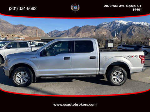2019 Ford F-150 for sale at S S Auto Brokers in Ogden UT